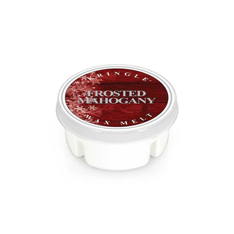 Kringle Candle Frosted Mahogany - wosk zapachowy - Candlelove