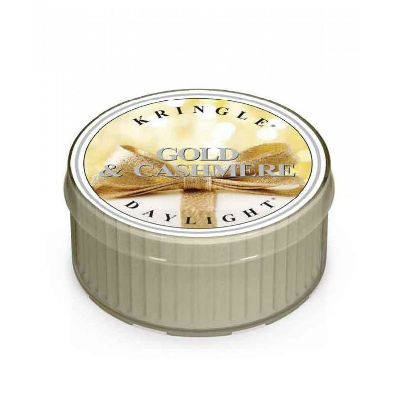 Kringle Candle Gold & Cashmere - daylight zapachowy - e-candlelove