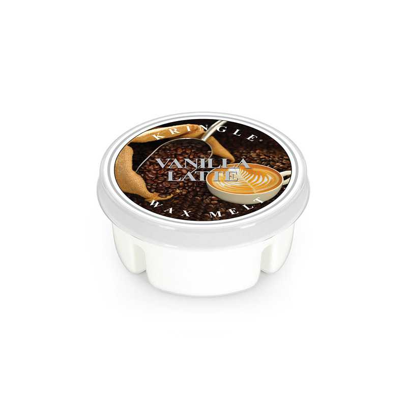Kringle Candle Vanilla Latte - wosk zapachowy - Candlelove