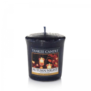 Yankee Candle Autumn Night - sampler zapachowy - Candlelove