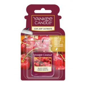 Yankee Candle Black Cherry Car Jar Ultimate - zapach samochodowy - Candlelove