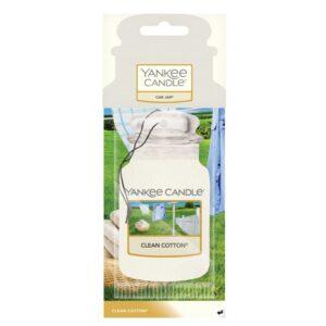 Yankee Candle Clean Cotton Car Jar - zapach samochodowy - Candlelove