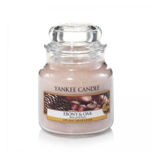 Yankee Candle Ebony & Oak - mała świeca zapachowa - e-candlelove