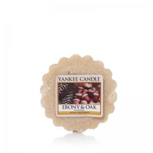 Yankee Candle Ebony & Oak - wosk - Candlelove