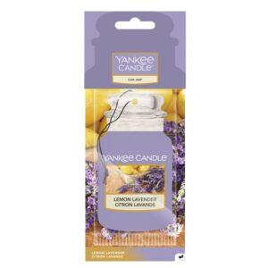 Yankee Candle Lemon Lavender Car Jar - zapach samochodowy - Candlelove