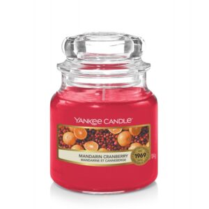 Yankee Candle Mandarin Cranberry - mała świeca zapachowa - e-candlelove