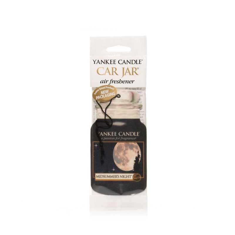 Yankee Candle Midsummer's Night Car Jar - zapach samochodowy - Candlelove