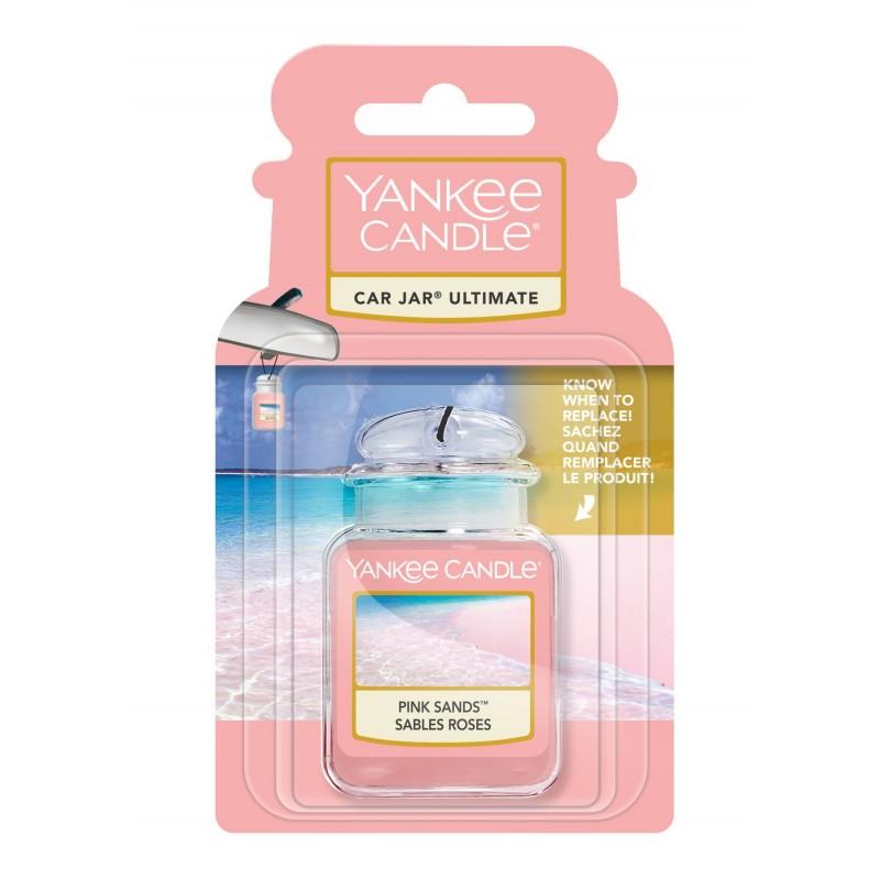 Yankee Candle Pink Sands Car Jar Ultimate - zapach samochodowy - Candlelove