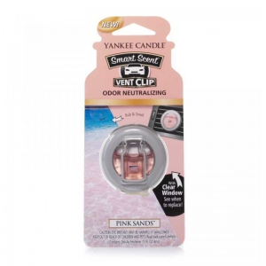 Yankee Candle Pink Sands Car Vent Clip - zapach samochodowy - Candlelove