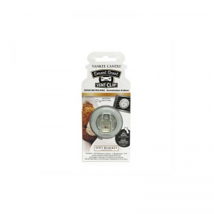 Yankee Candle Soft Blanket Car Vent Clip - zapach samochodowy - Candlelove