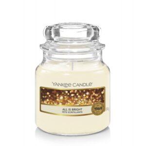 Yankee Candle All is Bright - mała świeca zapachowa - candlelove