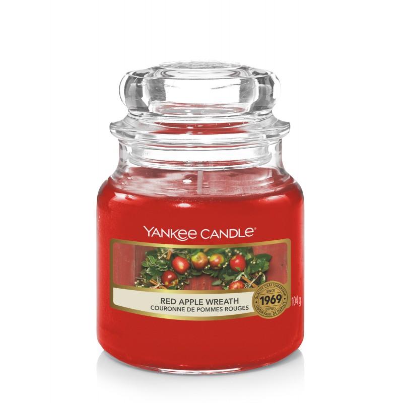Yankee Candle Red Apple Wreath - mała świeca zapachowa - Candlelove