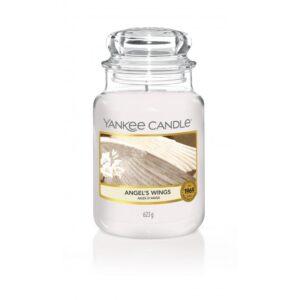 Yankee Candle Angel's Wings - duża świeca zapachowa - candlelove