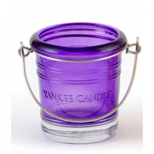 Yankee Candle Bucket - świecznik na samplery fiolet - e-candlelove