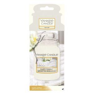 Yankee Candle Fluffy Towels Car Jar - zapach samochodowy - e-candlelove