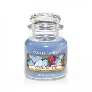 Yankee Candle Garden Sweet Pea - mała świeca zapachowa - e-candlelove