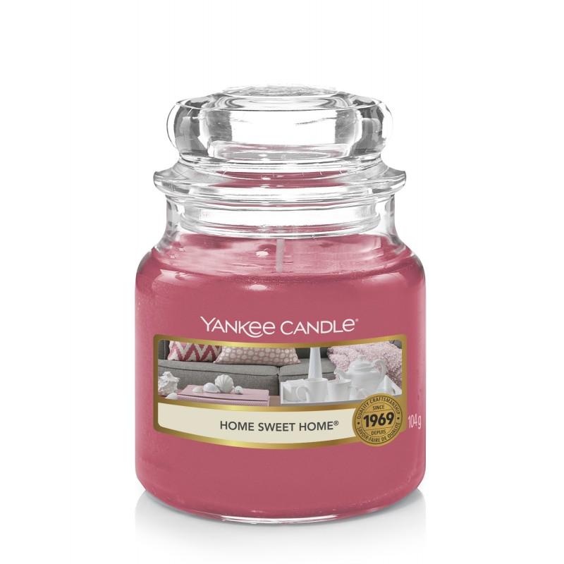 Yankee Candle Home Sweet Home - mała świeca zapachowa - candlelove