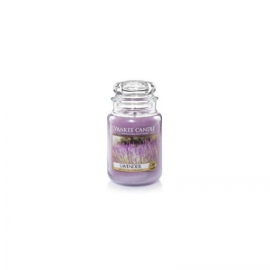 Yankee Candle Lavender - duża świeca zapachowa - e-candlelove