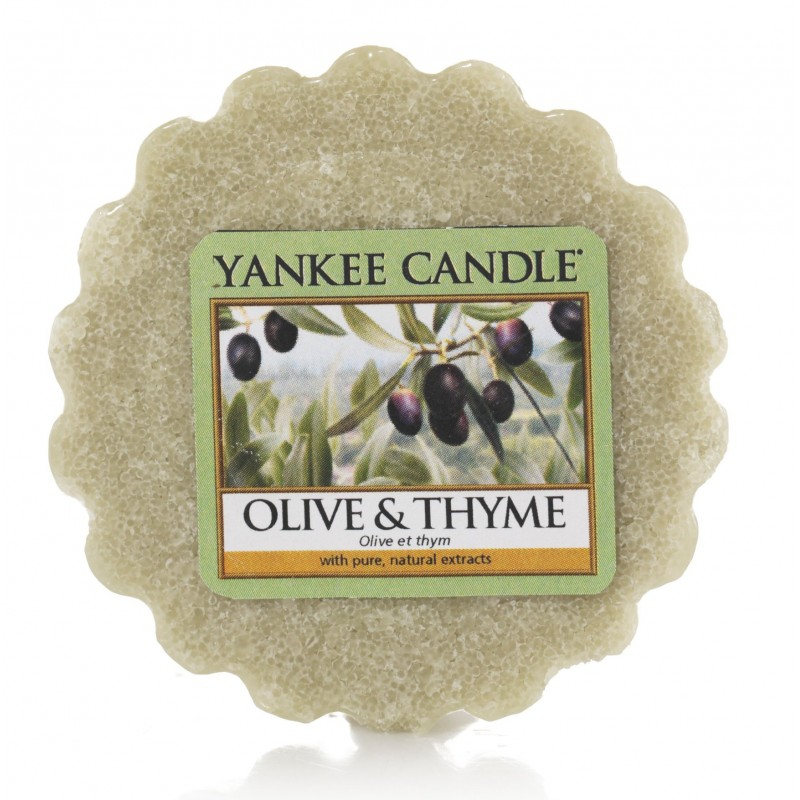 Yankee Candle Olive & Thyme - wosk zapachowy - e-candlelove