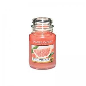 Yankee Candle Pink Grapefruit - duża świeca zapachowa - e-candlelove