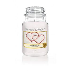 Yankee Candle Snow in Love - duża świeca zapachowa - e-candlelove