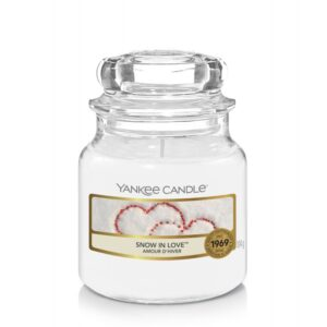 Yankee Candle Snow in Love - mała świeca zapachowa - e-candlelove