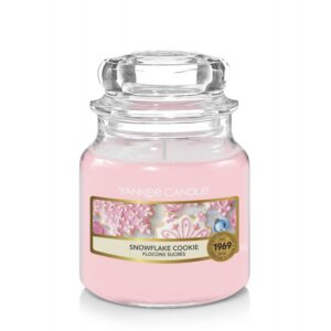 Yankee Candle Snowflake Cookie - mała świeca zapachowa - e-candlelove