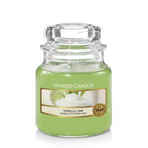 Yankee Candle Vanilla Lime - mała świeca zapachowa - e-candlelove