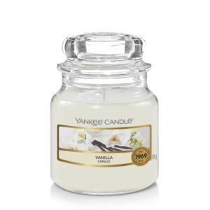 Yankee Candle Vanilla - mała świeca zapachowa - e-candlelove