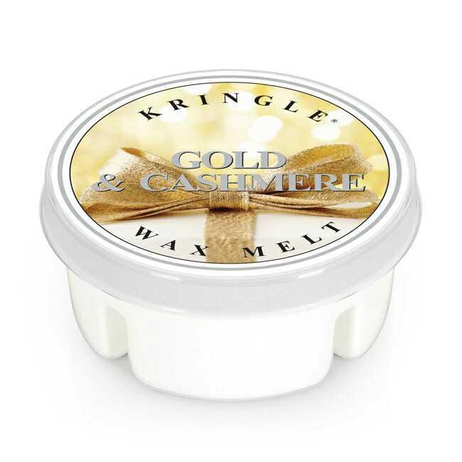 Kringle Candle Gold & Cashmere - wosk zapachowy - e-candlelove