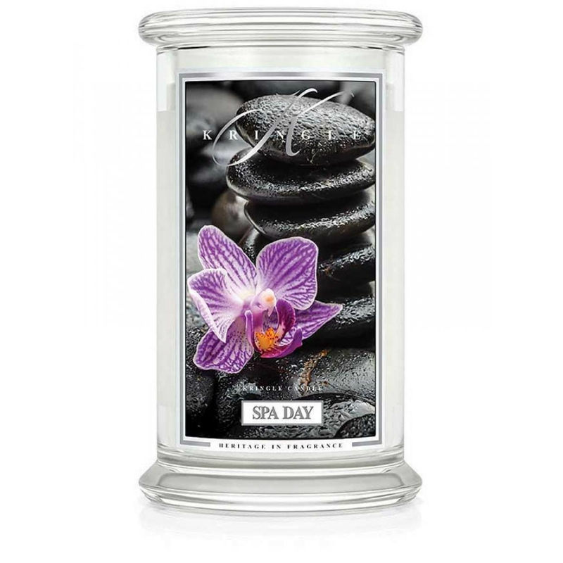 Kringle Candle Spa Day - duża świeca zapachowa - e-candlelove