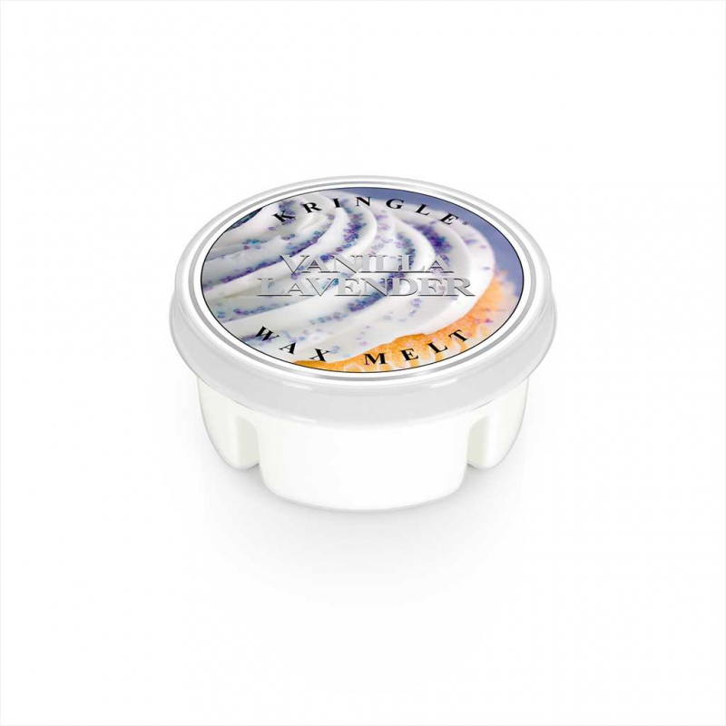 Kringle Candle Vanilla Lavender - wosk zapachowy - e-candlelove