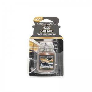 Yankee Candle New Car Scent Car Jar Ultimate - zapach samochodowy - e-candlelove