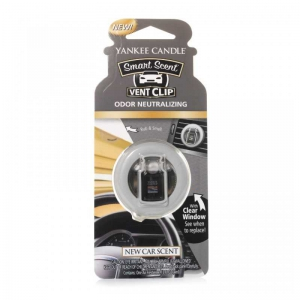 Yankee Candle New Car Scent Car Vent Clip - zapach samochodowy - e-candlelove