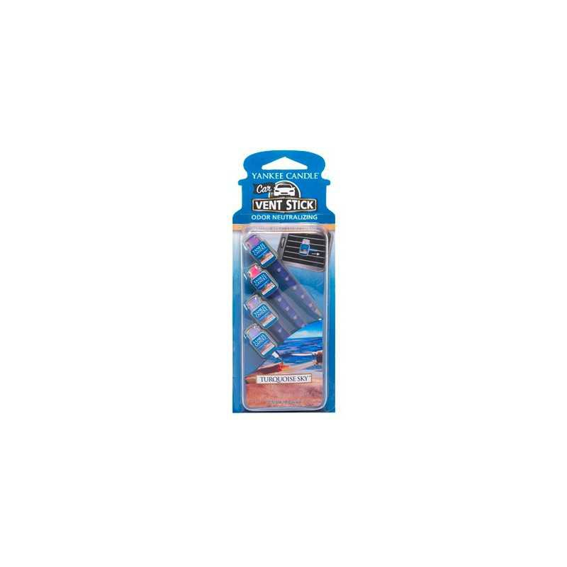 Yankee Candle Turquoise Sky Car Vent Stick - zapach samochodowy-candlelove
