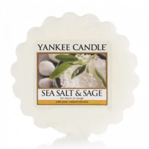 Yankee Candle Sea Salt & Sage - wosk zapachowy - e-candlelove