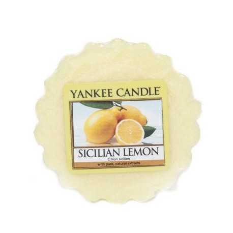 Yankee Candle Sicilian Lemon - wosk zapachowy - e-candlelove