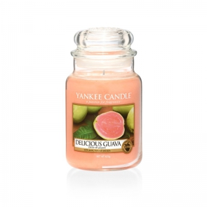 Yankee Candle Delicious Guava - duża świeca zapachowa - e-candlelove