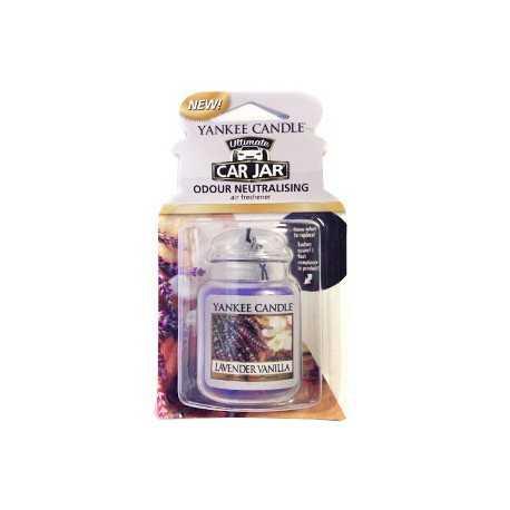 Yankee Candle Lavender Vanilla Car Jar Ultimate - zapach samochodowy - e-candlelove