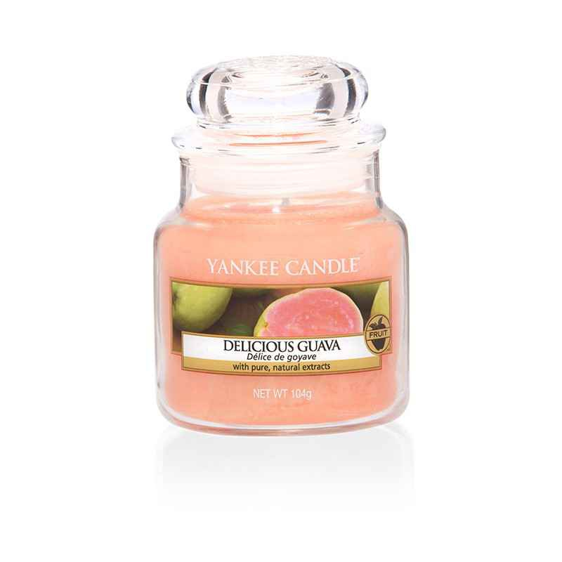 Yankee Candle Delicious Guava - mała świeca zapachowa - e-candlelove