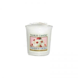 Yankee Candle Strawberry Buttercream - sampler - e-candlelove