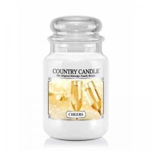Country Candle Cheers - duża świeca zapachowa - e-candlelove