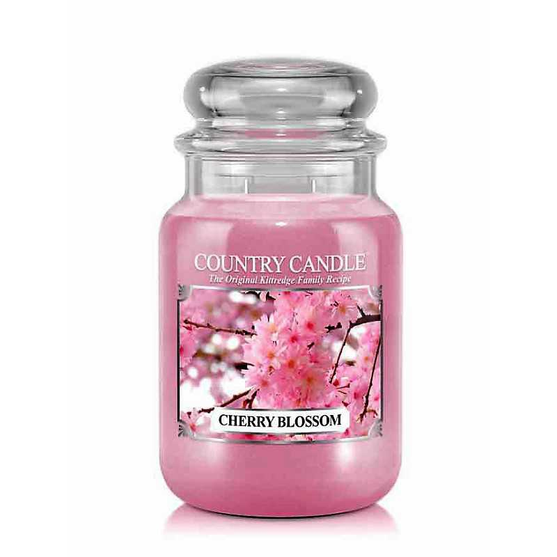 Country Candle Cherry Blossom - duża świeca zapachowa - e-candlelove
