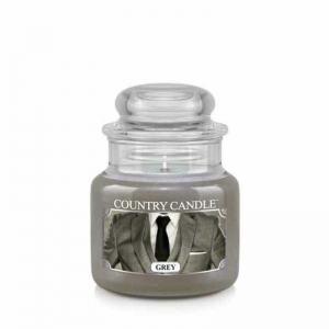 Country Candle Grey - mała świeca zapachowa - e-candlelove