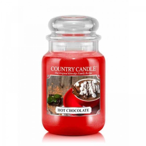 Country Candle Hot Chocolate - duża świeca zapachowa - e-candlelove