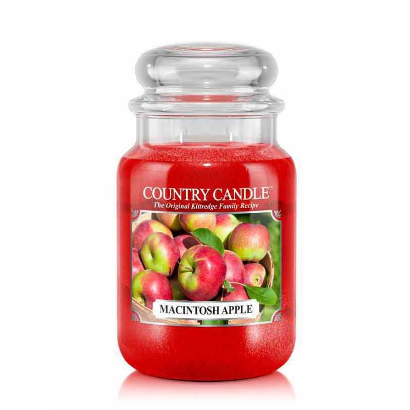 Country Candle Macintosh Apple - duża świeca zapachowa - e-candlelove