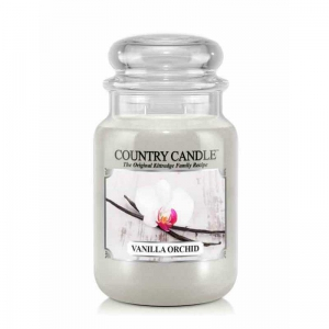 Country Candle Vanilla Orchid - duża świeca zapachowa - e-candlelove