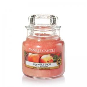 Yankee Candle Summer Peach - mała świeca zapachowa - e-candlelove