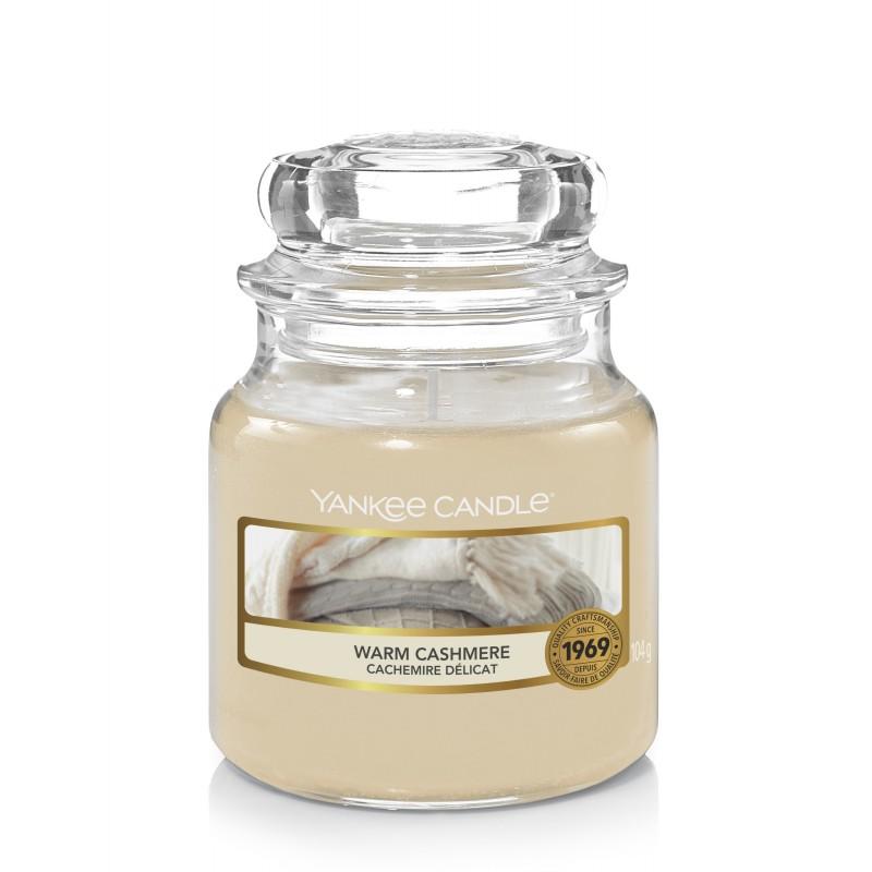 Yankee Candle Warm Cashmere - mała świeca zapachowa - e-candlelove