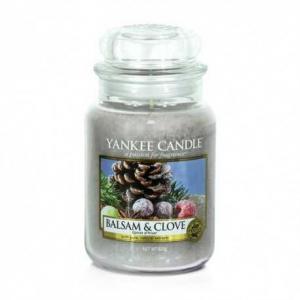 Yankee Candle Balsam & Clove - duża świeca zapachowa - e-candlelove